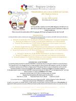 programma - ARC Regione Umbria