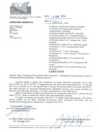 Circolare ASP Prot.n. 3841/c.str del 19_05_2014