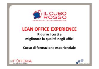 (Microsoft PowerPoint - Lean Office Experience [modalit\340