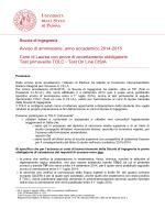 2014 Ingegneria Tolc definitivo - Università degli Studi di Padova