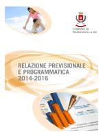 RPP 2014 - 2016 - Comune di Francavilla in Sinni