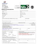 scaricare questo modulo di partecipazione a Radioamatore 2