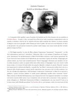 Scritti di Antonio Gramsci su Giordano Bruno