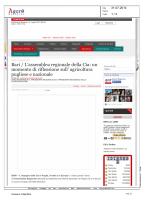rassegna stampa 31 luglio 2014