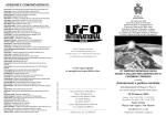 Programma dei Lavori - Centro Ufologico Nazionale