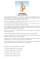 GARE ARTEMIDE - Associazione Artemide Caccia e Ambiente