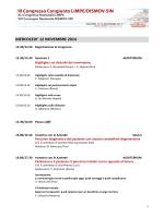 programma scientifico sito - Congresso Congiunto LIMPE DISMOV