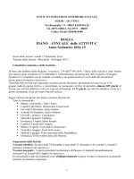 Piano Annuale Attività 2014 - Istituto di Istruzione Superiore Enrico