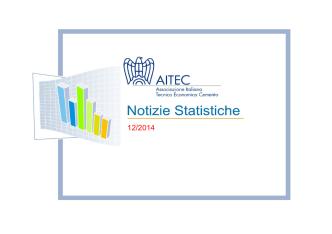 (9/1/2015) Notizie statistiche dicembre 2014