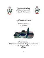 Agliana racconta 3 ed 2014