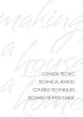 CONSIGLI TECNICI TEChNICaL advICES CONSEILS