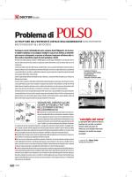 problema di polso - Dr. Alberto Gobbi