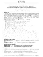 II GIORNATA INFETTIVOLOGICA AL SAN GIOVANNI