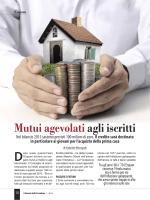 Mutui agevolati agli iscritti