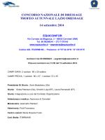 """CONCORSO NAZIONALE DI DRESSAGE TIPO """"B"""""""
