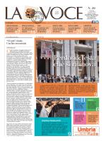 La Voce n.29 del 1 Agosto 2014