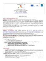 Locandina con aggiornamenti pubblicata 30-07-2014