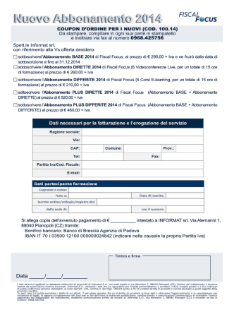 Coupon Abbonamenti 2014 Nuovo OK.psd