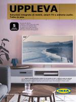 Soluzioni integrate di mobili, smart TV e sistema audio. Tutto in uno.