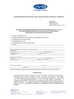 dichiarazione sostitutiva per agevolazione imposte di consumo
