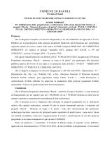 azioni immateriali - Comune di Bacoli
