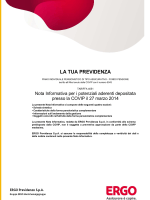 Nota informativa La tua previdenza 3-2014