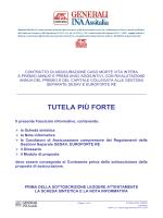 Fascicolo Informativo e Proposta Assicurativa TUTELA