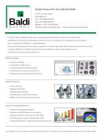 Brochure STB DEFf - Studio Tecnico Baldi