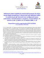 DTO 41-2014 Calcolo oblazione SCIA in sanatoria