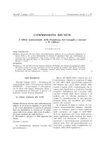 Commissioni riunite - Camera dei Deputati
