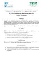 Bando Primaria - ufficio xv ambito territoriale per la provincia di