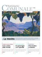 La mostra - Gemeindeblatt von Eppan und Kaltern