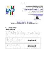 30 minuti 20 minuti - Sezione AIA Civitavecchia