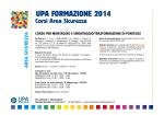 UPA FORMAZIONE 2014 - Unione Provinciale Artigiani Padova