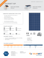 SolarWatt 60P DoubleGlass Datasheet IT