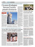 Un anno di indagini: SavonaCrociere passato al