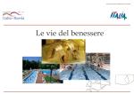 Le vie del benessere - Anno del Turismo Italia