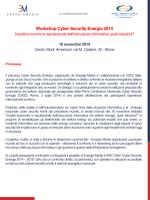 Workshop Cyber Security Energia 2014