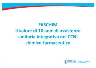 3.Presentazione FASCHIM_Direttore Claudio
