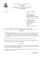 nomina dr. Agostino Carmeni reggente a scavalco