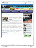 rassegna stampa 14 luglio 2014