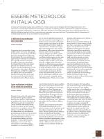 Essere meteorologi in Italia oggi - Andrea Corigliano