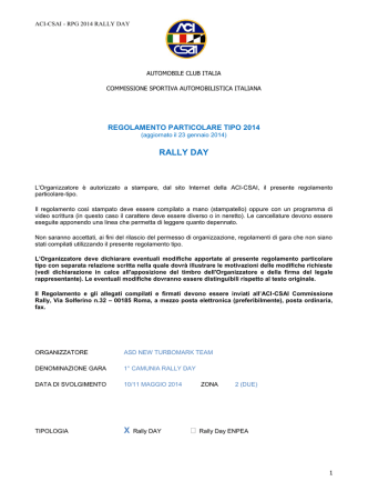 commissione sportiva automobilistica italiana