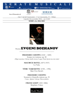 Pianista EVGENI BOZHANOV