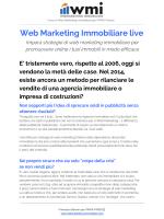 Web Marketing Immobiliare live