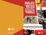 Scarica il Programma Pastorale 2014-2015