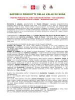 xix concorso enologico valle di susa a borgone