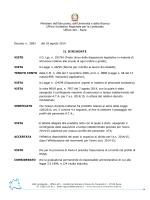 decreto contingente nomine - Ufficio scolastico regionale per la