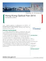 Hong Kong Optical Fair 2014
