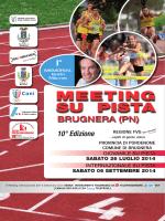 Programma - FIDAL - Friuli Venezia Giulia